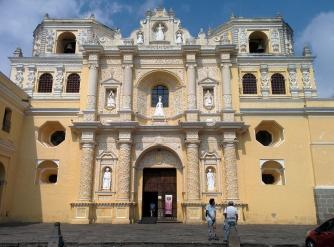 Church in Antigua. Guatemala