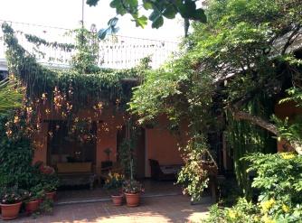 House in Antigua. Guatemala