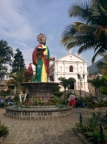 San Pedro and Catholic Church