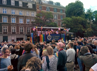 US Embassy in Copenhagen Pride Parade 2017