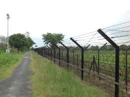 India-Bangladesh border barrier