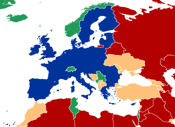 European_Union_neighbour_states_by_freedom